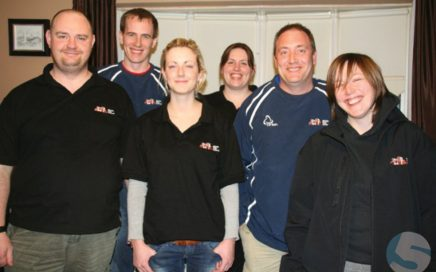 The Arbeia Diving team