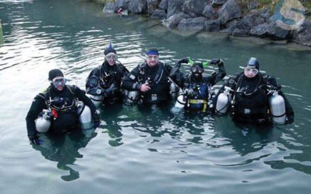 Taking the sidemount course