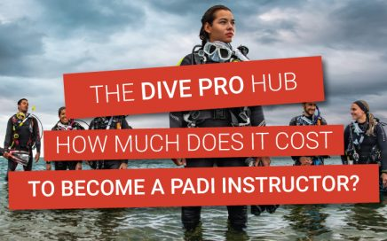 How much does it cost to become a PADI instructor?
