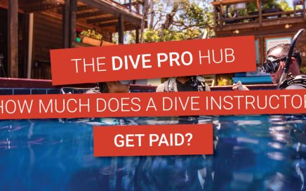 How much does a scuba instructor get paid?