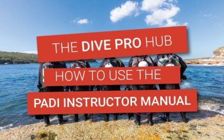 How to use the PADI Instructor Manual