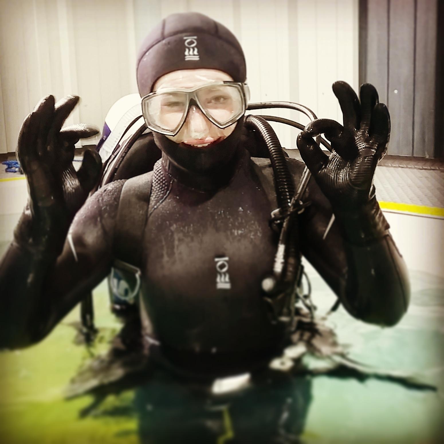 Women in diving