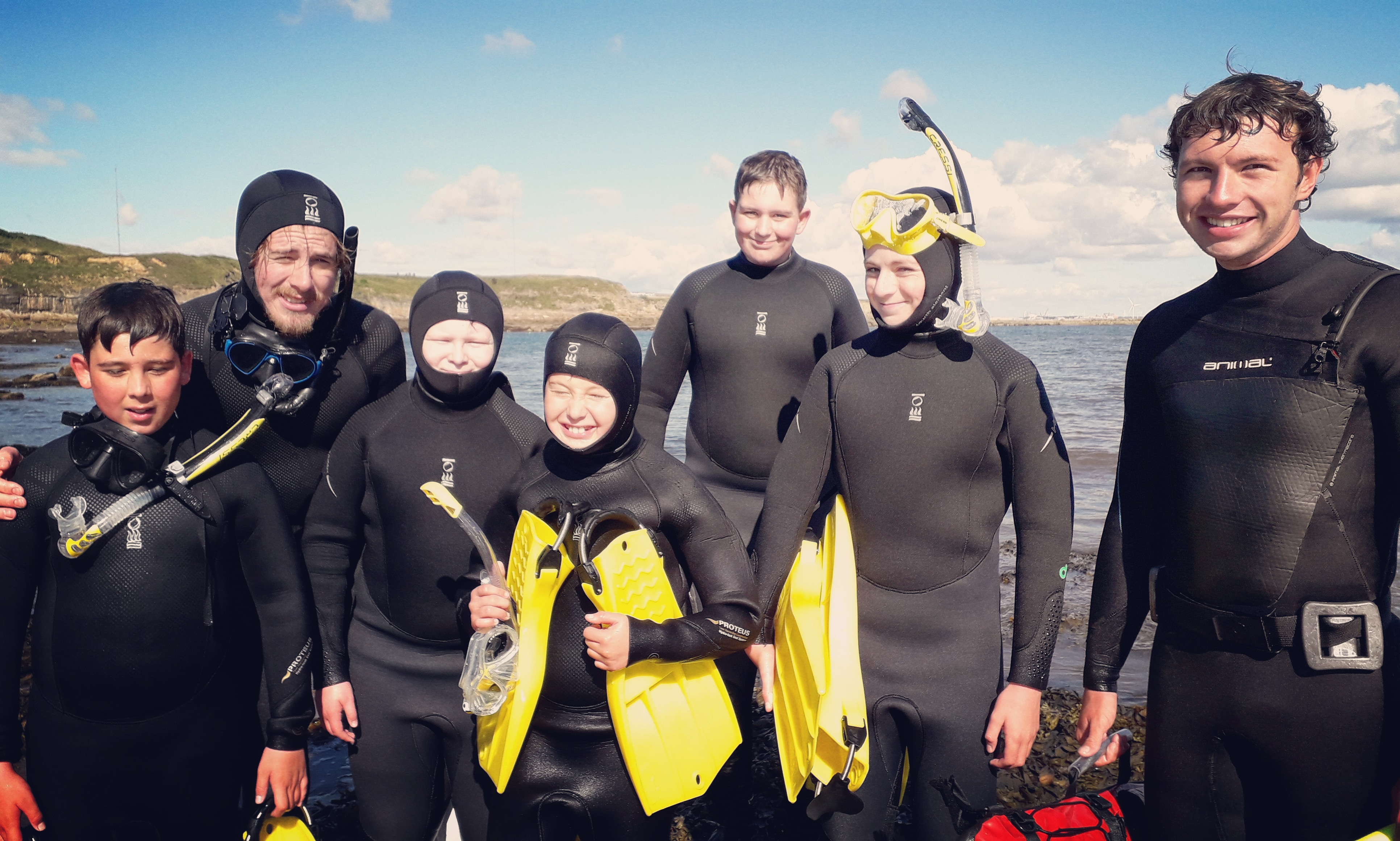 The Fifth Point Diving Centre's kids snorkelling safari