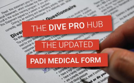 New PADI medical form