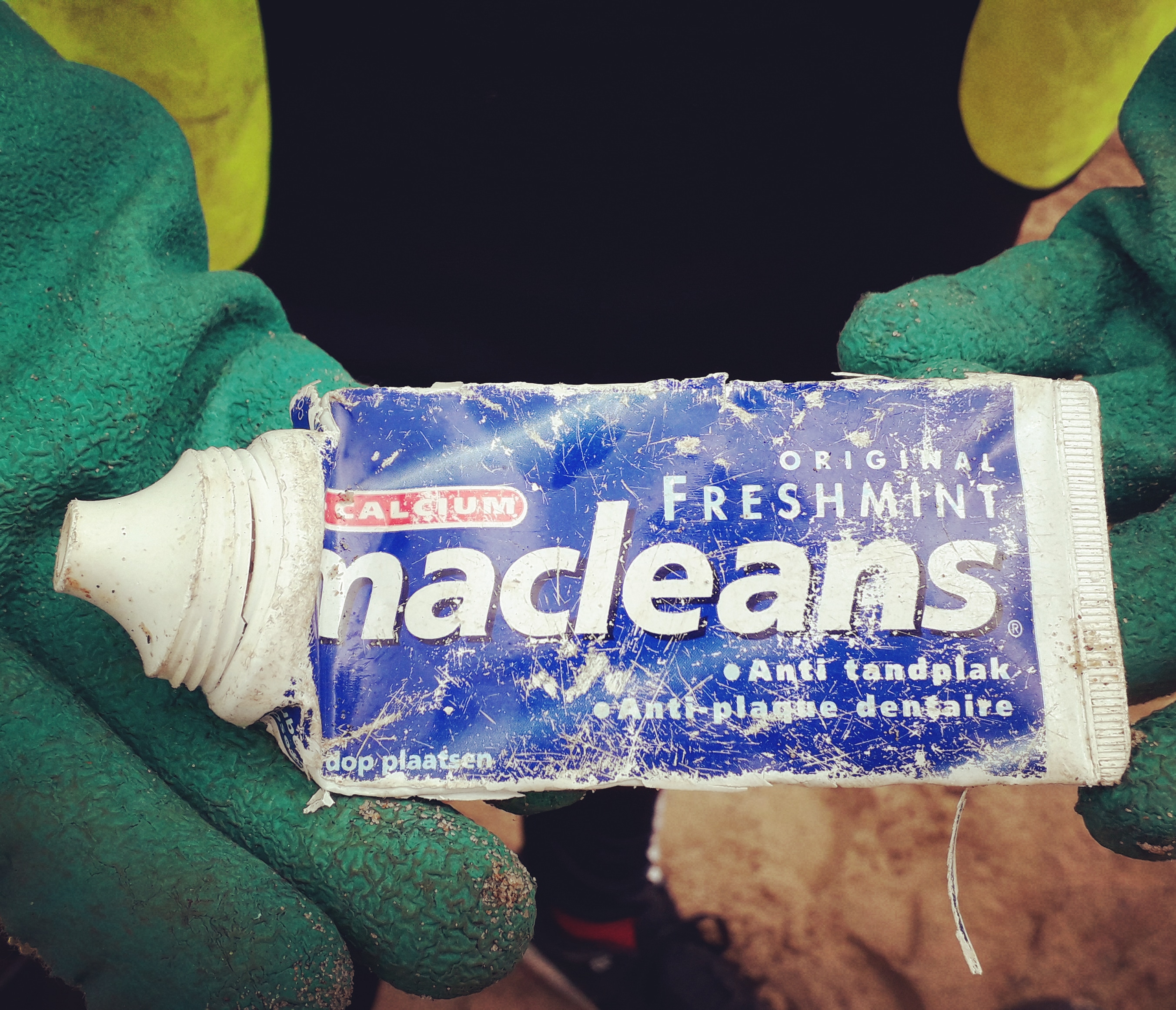 How old is this toothpaste tube? Plus it's from the Netherlands!