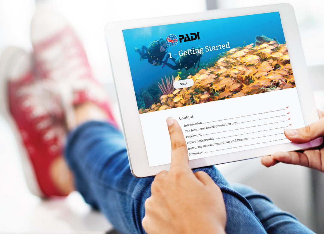 PADI Instructor Development Course eLearning