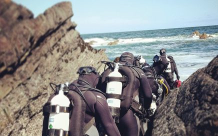 Scuba diving trips in Northumberland