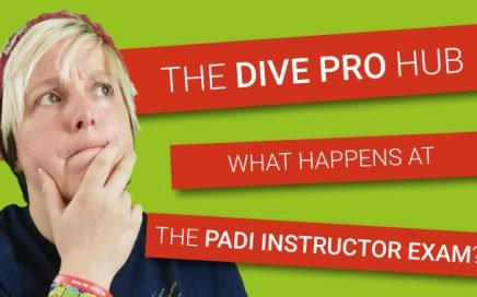 What happens at the PADI Instructor Exam
