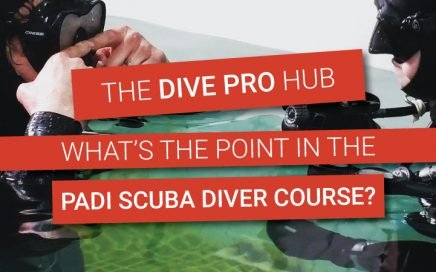 What's the point in the PADI Scuba Diver course from a pro's perspective