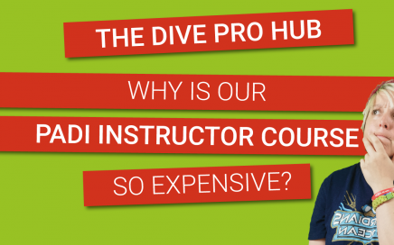 Why is our PADI Instructor course so expensive?