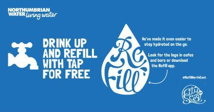 We're part of the Refill Scheme